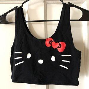 Hello Kitty crop tank